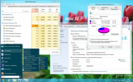 Windows 8 (x86/x64) на русском